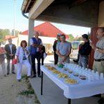 Réception des bénévoles du Festival des mots croisés à Is-sur-Tille